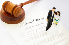 Legal divorce Royalty Free Stock Photography