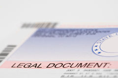 Legal Document Envelope Stock Photos