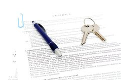 Legal document for sale Royalty Free Stock Image