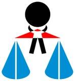 Legal emblem Royalty Free Stock Images