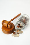 Legal expenses Stock Images