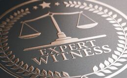 Free Legal Expertise. Expert Witness Service Stock Photo - 178522260