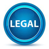 Legal Eyeball Blue Round Button royalty free illustration