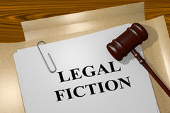 Legal Fiction concept Royalty Free Stock Images