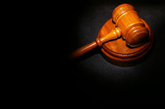 Legal gavel Stock Images