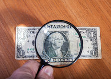 Legal and illegal turnover of money Stock Photography