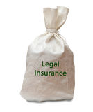 Legal insurance Royalty Free Stock Photo