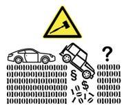 Legal Issues of Autonomous Cars Stock Image