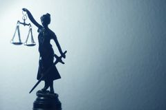Legal justice law statue Royalty Free Stock Image