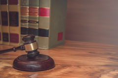 Legal law concept image with Scales of justice Stock Photography