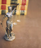 Legal law concept image with Scales of justice Stock Image