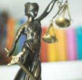 Legal law firm statue Stock Photo