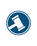 Legal law icon 2 business insurance abstract Royalty Free Stock Photos