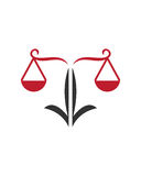 Legal law icon 3 business insurance abstract Royalty Free Stock Photography