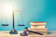 Legal. Lawyer scale gavel attorneys background trial stock image