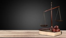 Legal. Symbol gavel hammer auction rights trial stock photography