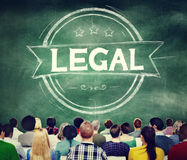 Legal Legalisation Laws Justice Ethical Concept Royalty Free Stock Photos