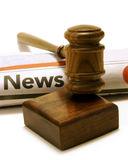 Legal News Issues Royalty Free Stock Image