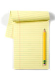 Legal Pad Royalty Free Stock Photo