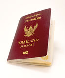 Legal passport book for Thai people. With white back ground Stock Images