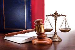 Legal proceedings Royalty Free Stock Images
