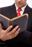 Legal reading Stock Photo