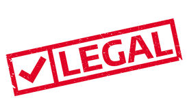 Legal rubber stamp. Grunge design with dust scratches. Effects can be easily removed for a clean, crisp look. Color is easily changed Stock Photography