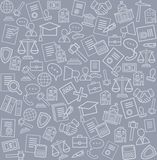 Legal services, background, gray. Royalty Free Stock Photo