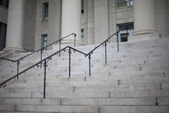 Legal Stairs. Stairs leading to court building entrance Stock Images