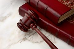 Legal still life Royalty Free Stock Photos