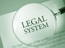 Legal system  Royalty Free Stock Photo