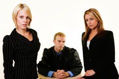 Legal team Stock Photo