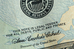 Legal tender Stock Images