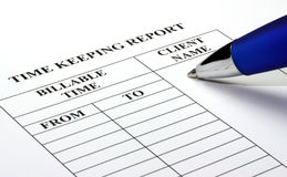 Legal Time Keeping Royalty Free Stock Image