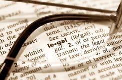 Legale Fotografia Stock