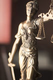 Legale Göttin des Rechtsanwaltsbüros Lizenzfreie Stockbilder