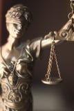 Legale Göttin des Rechtsanwaltsbüros Lizenzfreie Stockfotografie