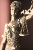 Legale Göttin des Rechtsanwaltsbüros Lizenzfreies Stockfoto