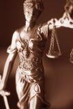 Legale Göttin des Rechtsanwaltsbüros Lizenzfreies Stockbild