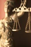 Legale Göttin des Rechtsanwaltsbüros Stockbilder