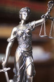 Legale Statue Themis des Rechtsanwaltsbüros Lizenzfreies Stockbild