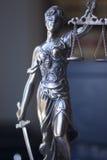 Legale Statue Themis des Rechtsanwaltsbüros Lizenzfreie Stockbilder