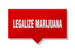 Legalice el precio de la marijuana ilustración del vector