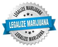 Legalice la marijuana ilustración del vector