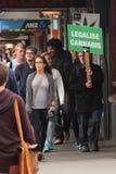 Legalisieren Sie Hanf! Stockbild