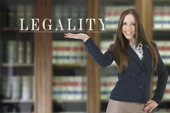 legality royaltyfri fotografi