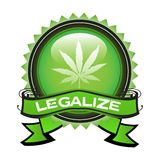 Legalize marijuana Stock Photos