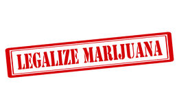 Legalize marijuana Royalty Free Stock Photo