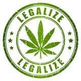 Legalize stamp Stock Photos