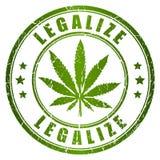 Legalizuje znaczek Zdjęcia Stock